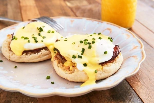 Baked Eggs Benny